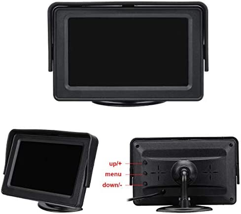 Reversing Backup Rear View Camera for Mercedes YeBetter 4.3 TFT LED Monitor for Sprinter for Crafter 2006-2017