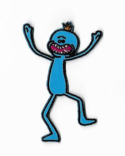 Parche de Rick & Morty (3,5 pulgadas) Mr Meeseeks bordado ...