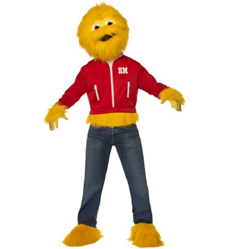 Mens Sugar Puffs Honey Monster Fancy Dress Costume