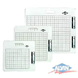 Alvin Artist Sketch Board- Gridded White 18-1/2x19-1/2 ()