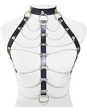 Body Sieraden En Accessoires Women Girls Fashion Punk Sexy Taille Harnas Bra Corset Chain Belly Chain Body Jewelry Belt Accessoires Clubwear Van De Partij