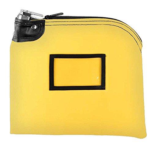Locking Bag - 10W x 8H - Yellow Canvas