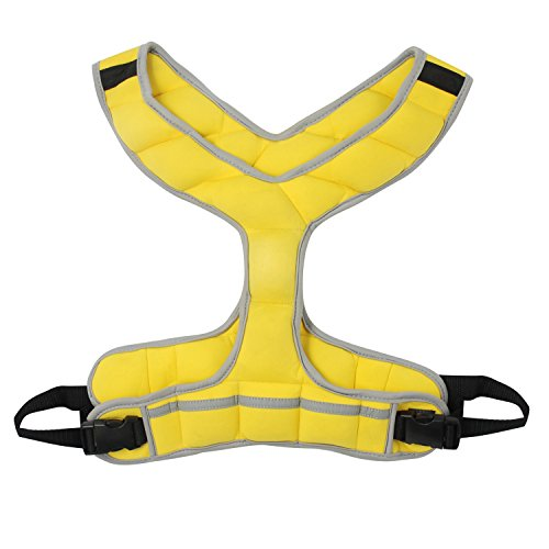 Zeyu Sports Walking Fitness Weighted Vest 8LBS/3.6KG Yellow Women Running