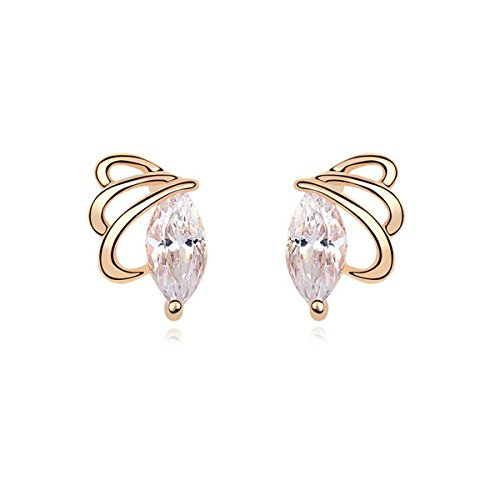 idin-stud-earrings-gold-plated-butterfly-dettol-zircon-stud-earrings-white-approx-12-x-08-cm
