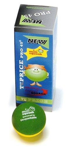 Unsquashable Pro Balles de mini squash Pack de 12 202168