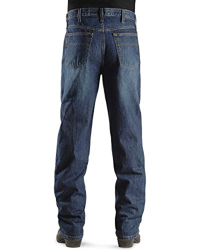 Cinch Men's Label Dark Stone Relaxed Fit Jeans Big and Tall Dark Stone 38W x 38L (Mens Cinch)