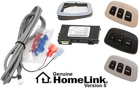 60-HMLKV5BLK HomeLink Version 5 Module with Black Bezel   MITO