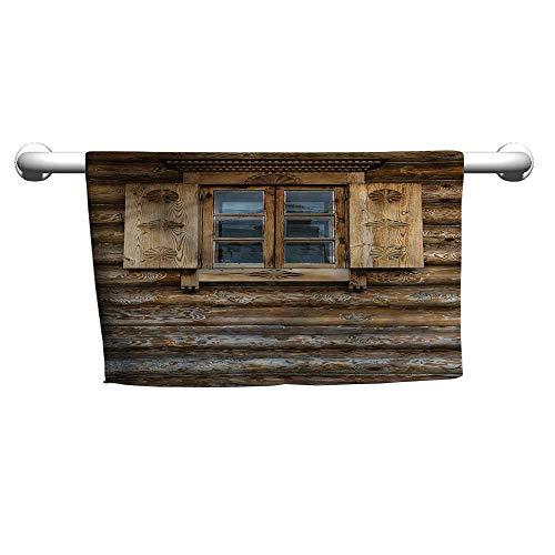 alisoso Bath Sheet Shutters,Wooden Cottage Shutter W 10