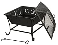 DeckMate Luna Wood Burning Outdoor Firebowl from Deckmate