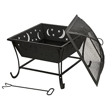 DeckMate Luna Wood Burning Outdoor Firebowl