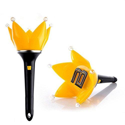 Kpop Bigbang Crown Support Light Stick Limited Concert Lamp Verison 4 (Bigbang-Black)