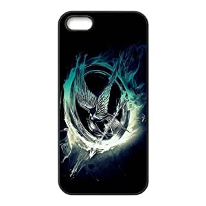 The Hunger Games Pattern Design Solid Rubber Customized Cover Case for iPhone 4 4s 4s-linda477