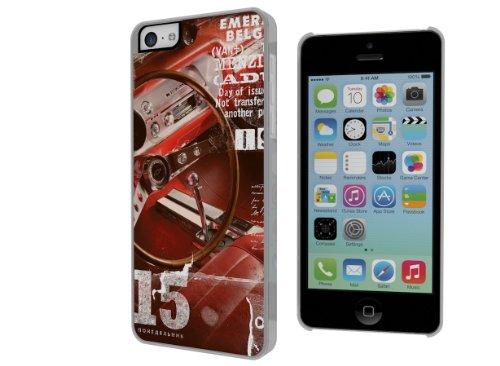 Master Case - Coque iPhone 5C Vintage Case -Red Car