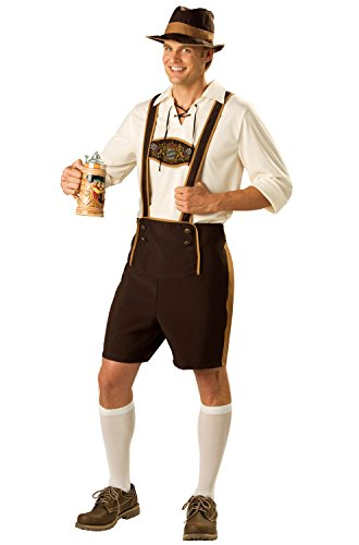 Happy Halloween Fat Guy (InCharacter Bavarian Guy Adult Costume)