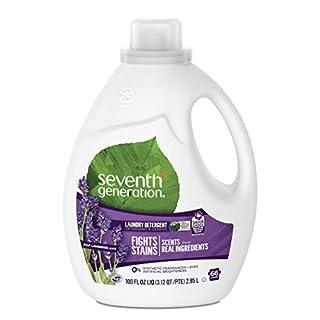 Seventh Generation Liquid Laundry Detergent, Fresh Lavender scent, 66 Loads, 100 oz