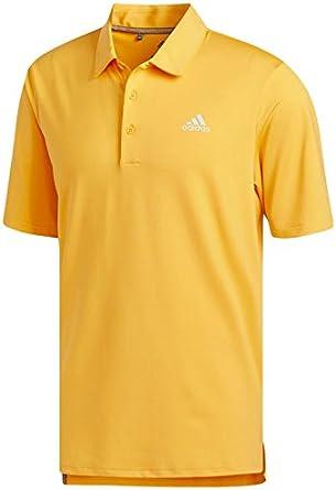 adidas Ultimate 365 Solid Polo de Golf, Hombre, Naranja, L: Amazon ...