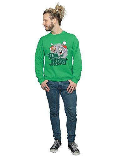 Entrenamiento Greetings Camisa Lorenay Christmas Jerry Verde Tom De Hombre And Irlandés 6FwCU8OxCq