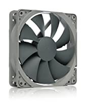 noctua NF-P12 redux-1300 PWM high-performance quiet 120mm fan, ideal for PC cases, CPU heatsinks and water cooling radiators, award-winning premium model in affordable grey redux edition