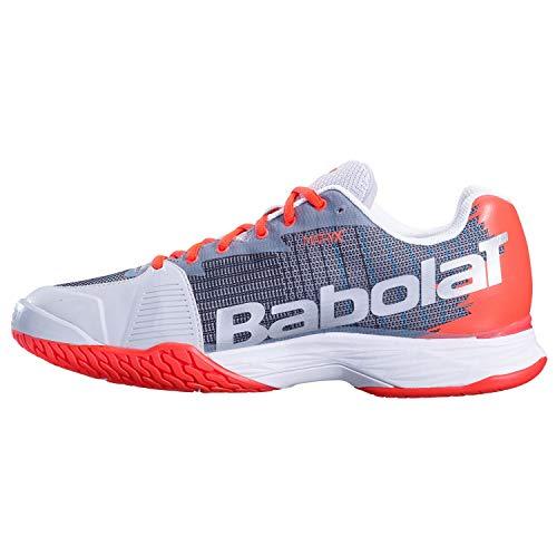 Allcourt Babolat All Scarpe Grigio I Mach Tennis 42 Jet Arancione da Terrain Mens wqvng8v0E