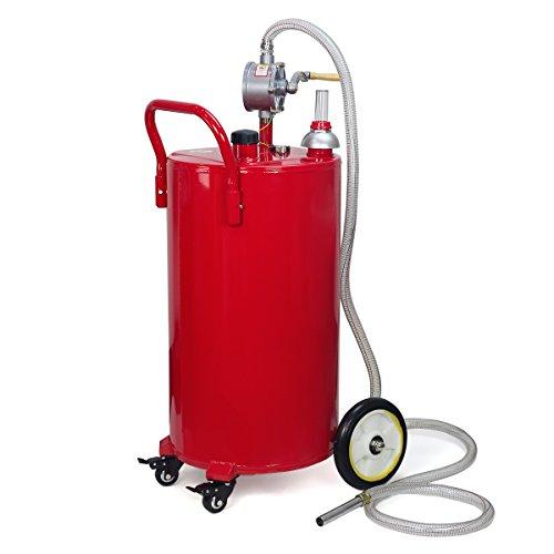 Portable Fuel Tank Gasbuddy : Stkusa gallon portable fuel transfer gas can caddy