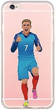 Coque iPhone 5/5S/SE football - Antoine Griezmann: Amazon.fr ...