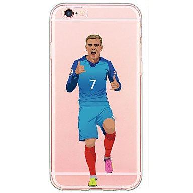 2 opinioni per iPhone 5/5S/SE Cover/Custodia Calcio- Antoine Griezmann- Francia
