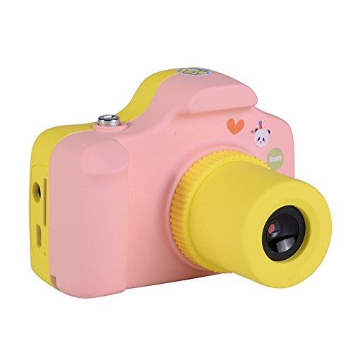 Ocamo Lovely - Cámara digital Mini de 1.5' para niños, Rosado, 1