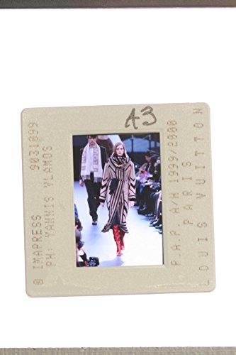 Slides photo of Louis Vuitton collection in Paris.