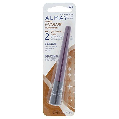 Almay Intense i-Color Liquid Liner, Purple Amethyst [021], 0.08 oz ()