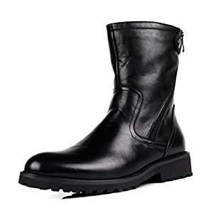 Amazon.com : Hy Men's Boots, Leather High-top Martins
