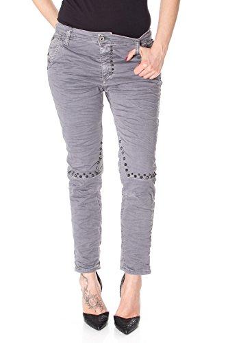Please unique taille Gris Jeans Femme XwS0qtWXr