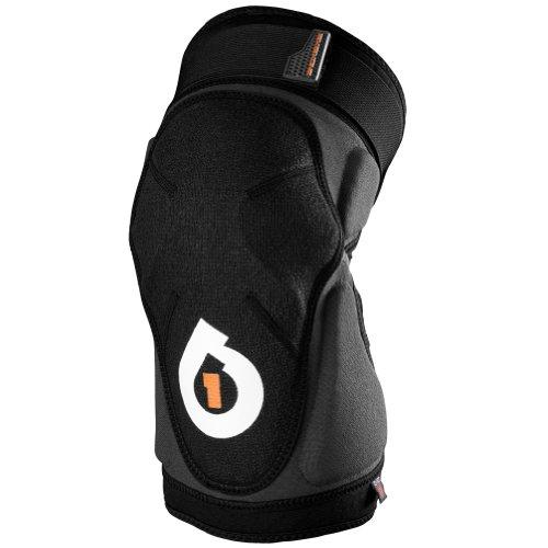 (SixSixOne Unisex Evo Knee Guard Off-Road Cycling MTB Body Armor - Black/Small)