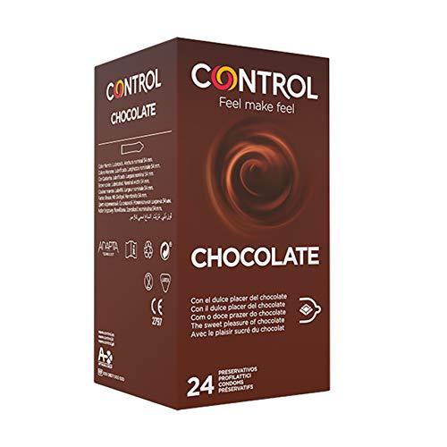 🥇 Control Chocolate – Caja de condones con aroma y sabor a chocolate