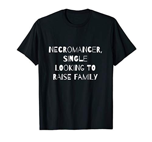 Clever Necromancer Halloween Party T-Shirt