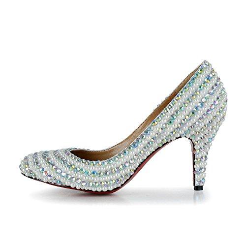 Joe Escarpins shoes Femme Blanc pour rvrwRPqS
