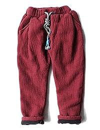 Winter Boys Cotton Plus Velvet Trousers