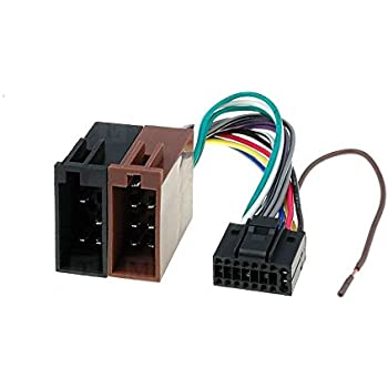 kenwood 16 pin iso lead wiring loom power. Black Bedroom Furniture Sets. Home Design Ideas