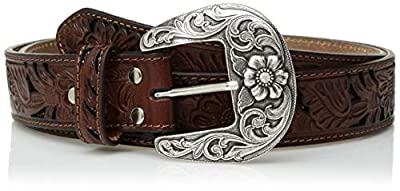 Nocona Belt Co. Women's Tone Tan Filagree Belt