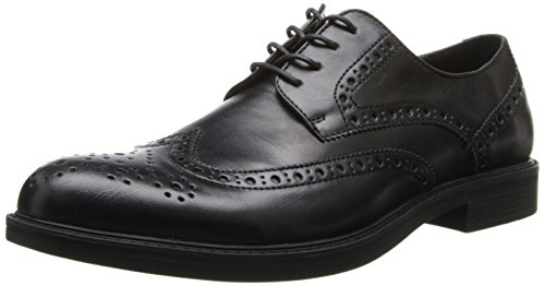 Kenneth Cole Unlisted Men's Open Wide SY Oxford,Black,10 M US