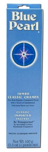 Blue Pearl Classic Incense, Champa, 100 ()