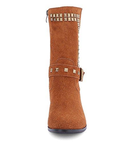 Nine SevenMid-calf-boots - Botas mujer marrón