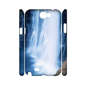 J-LV-F Waterfall Customized Hard 3D Case For Samsung Galaxy Note 2 N7100