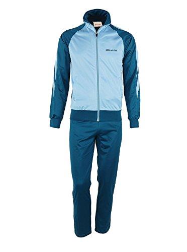 Men's Outdoor 2 Piece Jacket Pants Track Suit Sport Sweat Suit Set Stell/Seaport - Warehouse Men Suit