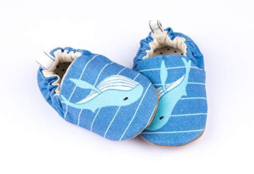 Baby Prewalk Mini Shoes, 12-18M (Blue Whale) ()
