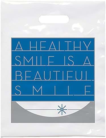 Practicon 1109618 Beautiful Smile Patient Care Bags, 7-3/4