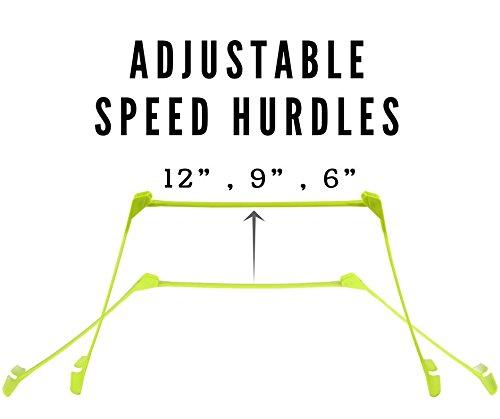 (6 Pcs) Foldable Agility Hurdle Set