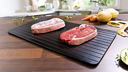 Fairbridge FBCN001 Fast Tray The Safest Way to Defrost Meat or Frozen Food Quickly Without Electricity, Microwave, Hot Water or Any Other, Small by Fairbridge (Image #1)