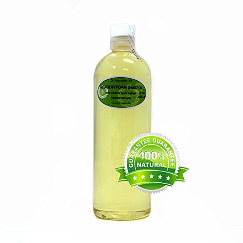 Meadowfoam Seed Oil Pure Organic by Dr.Adorable 16 Oz/ 1 Pint