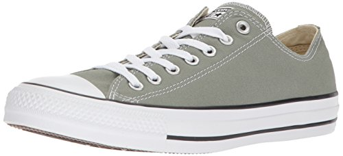 Converse Chuck Taylor All Star Seasonal Canvas Low Top Sneaker, Dark Stucco, 8 M US