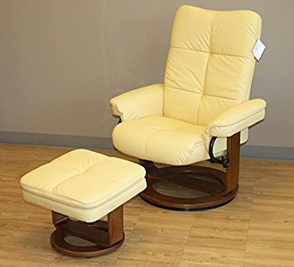 Brilliant Amazon Com Comfort Chair 804 25 103 Sun Yellow Leather Ncnpc Chair Design For Home Ncnpcorg